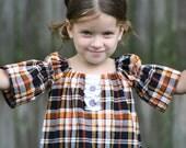 NEW...FALL...TUXEDO SHIRT DRESS...2T 3T 4T