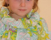 Only 1 left!  Size 4T... READY TO SHIP... Puffy Neck Peasant Top... Neemies