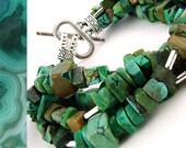 Turquoise Cubed Bracelet