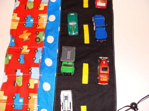 Red Car Cozie- Traffic Jam