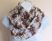Clear Day Infinity Scarf Women Accessories Crochet
