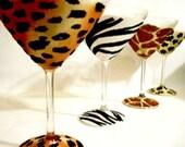 Sexy Safari Martini Set
