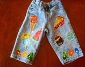 Very Hungry Caterpillar Boutique Applique Jeans