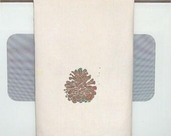 Pine Cone Towel