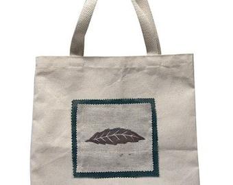 Leaf Canvas Tote Bag
