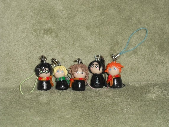 One Clay Harry Potter Keychain