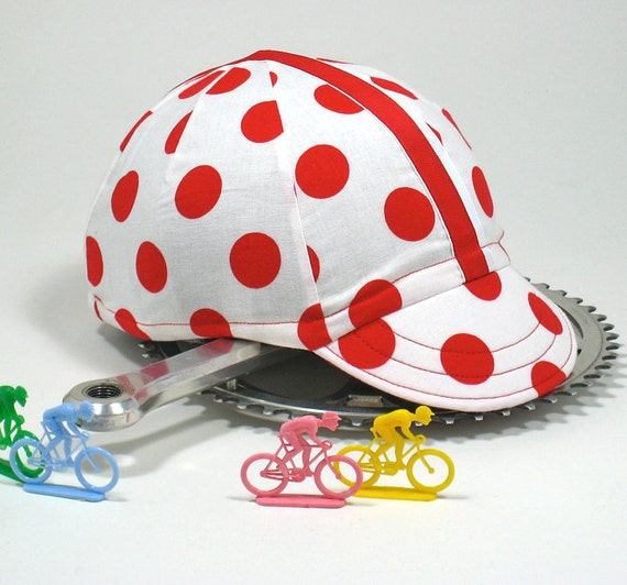 KOMs Cycling Cap  Size: Small/Medium