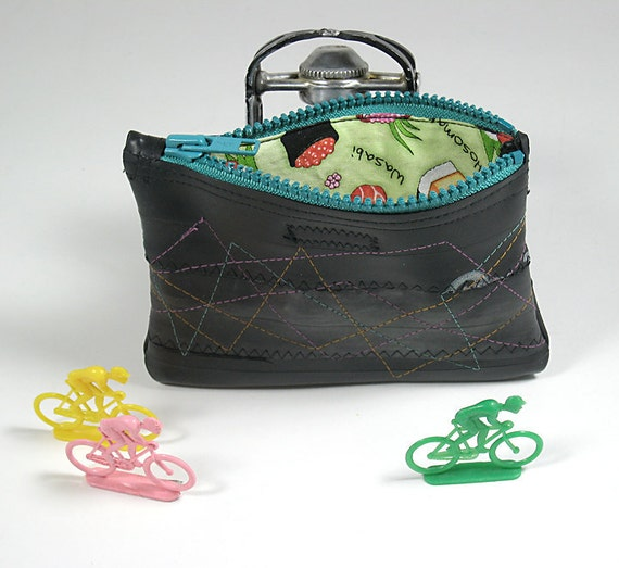 Recycled Bike Inner Tube Piccolo Pouch