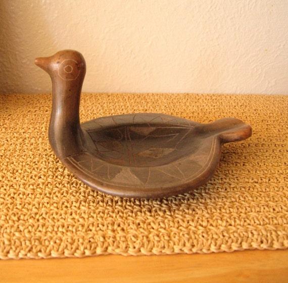 Handmade Bird Dish