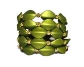 WOMEN'S JEWELRY: Bracelet Spring Green Gold Wrap