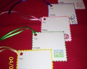 5  Square Gift Tags
