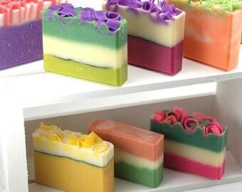 You Choose 8 Handmade Soaps
