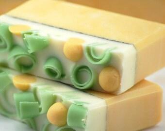 Lemon Tree Soap Handmade Cold Process, Vegan Friendly