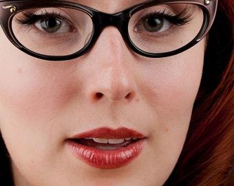 Natural Lip Gloss in Pomegranate Red Mineral Lipstick