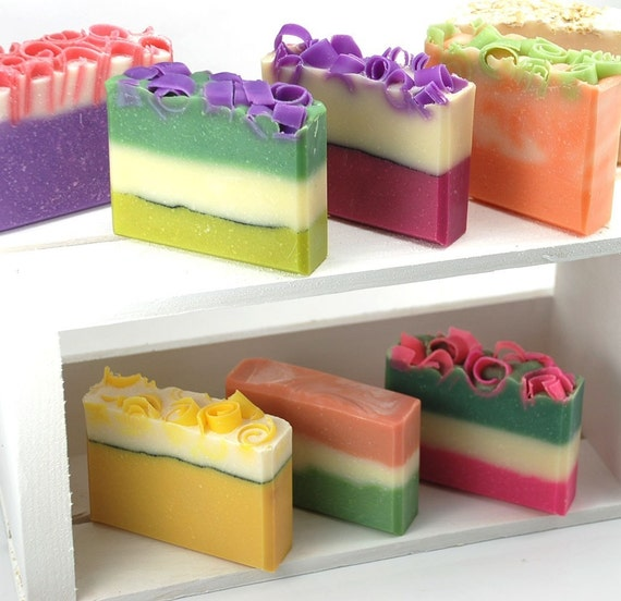 You Choose 8 Handmade Soaps