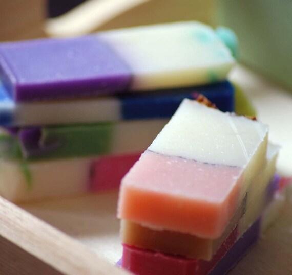 Handmade Soap Sample Pack- 12 Samples