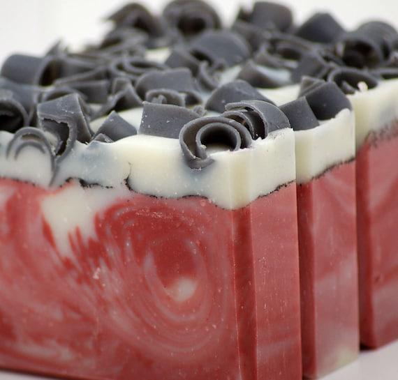 Blood Orange Soap Handmade Cold Process, Vegan Friendly