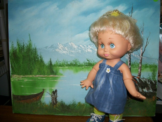 Galoob Baby Face Doll  Number 6- Sarah