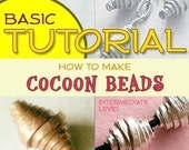 Cocoon Beads Tutorial Handmade Wire Beads