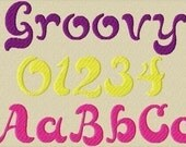 Groovy Embroidery Font