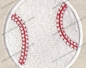 Baseball Embroidery Design