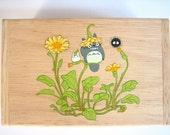 My Neighbor Totoro Hand Paint wood Box Studio Ghibli 17
