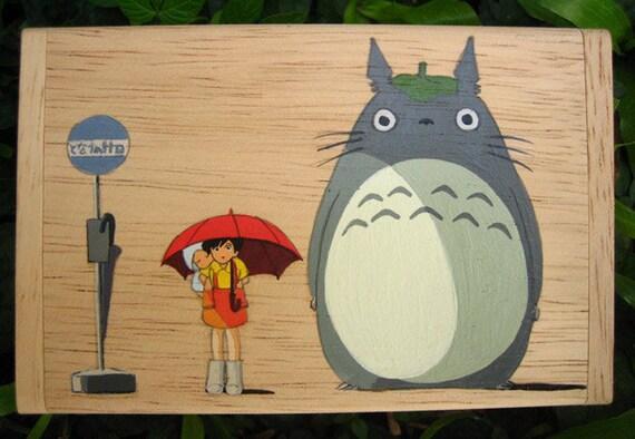 My Neighbor Totoro Hand Paint wood Box Studio Ghibli 20