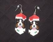 Berner Santa earrings