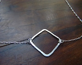 Square Organic necklace
