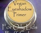 Vegan Oily Lid Eyeshadow PRIMER in Buff Color