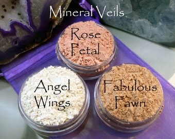 Vegan Mineral Veil 20 Gram Sifter Jar now available in 3 shades
