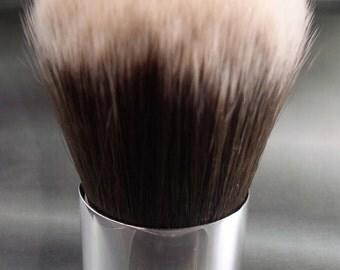 Vegan Kabuki Brush w Vegan 10 gram jar of anything you would like