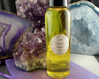 Argan Oil Natural Wrinkle Eraser 100 Percent Organic Argan Oil From Morrocco 2 full fl. oz.