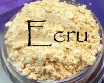 Ecru Vegan Concealer 10 Gram Jar apprx. 5 grams of powder