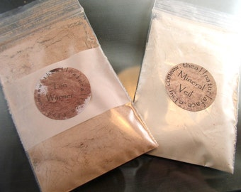 Vegan Foundation Refill baggie for a 30 gram jar ( apprx 10-12 grams powder)