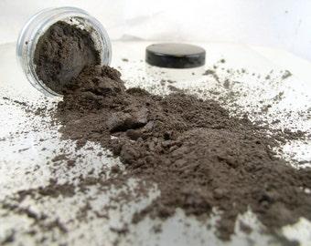 Vegan Mineral Eye Shadow Smoky Quartz 5 gram jar ( apprx. 2 grams)