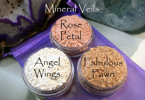 Vegan Mineral Veil in 20 gram jar ( apprx 8-10 grams powder)