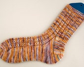 Mock Cable Socks Knitting Pattern - PDF