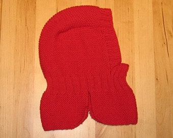Anne's Helmet Knitting Pattern - PDF