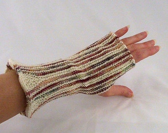 Flared Wristlet Knitting Pattern - PDF