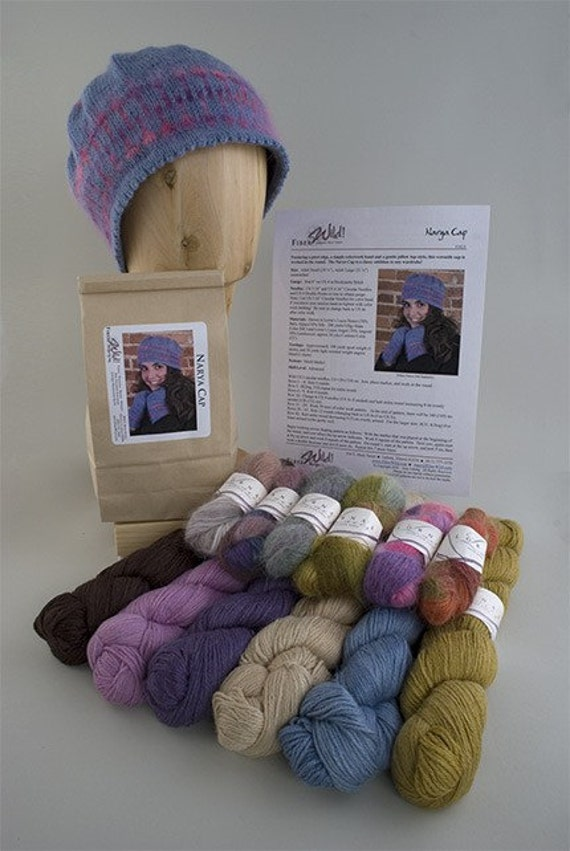 Narya Cap Knitting Kit
