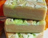 Spiced Pear Luxurious Olive Oil Soap....Cold Process...Everyone say Yum.