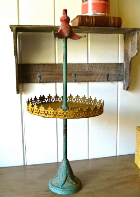Lola- Tall French Country Vintage Style Display Stand for Shop- jewelry, hair accessories