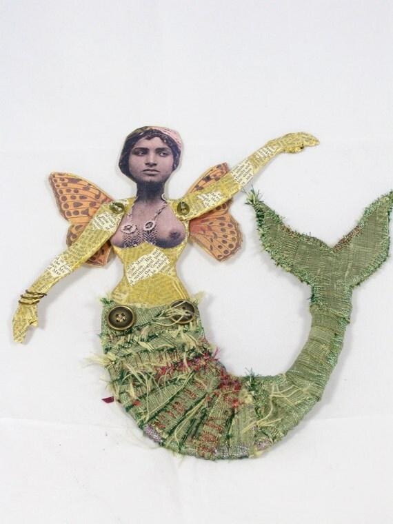 Mermaid Doll Mambo Mambo La Sirène Yemaya- Reserved for Bonnie