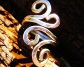 Silver Vine Tendrils Ring