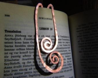 Copper Fernleaf Bookmark