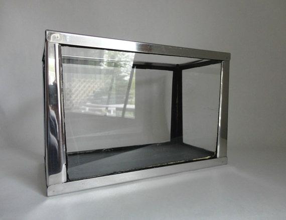 Perfect Terrrarium Size Vintage Mid Century Metal Frame