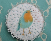 Pollen . Bird . Brooch