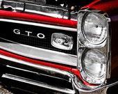 1966 Pontiac GTO Muscle Car Fine Art Print- Car Art, Antique Car, Home Decor, Nursery Decor, Wall Art, Vintage Car