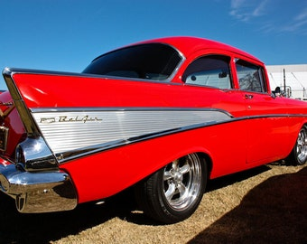 1957 chevy belair etsy for Garage bel auto 38400